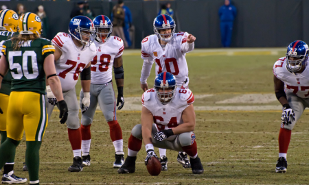Giants on offense