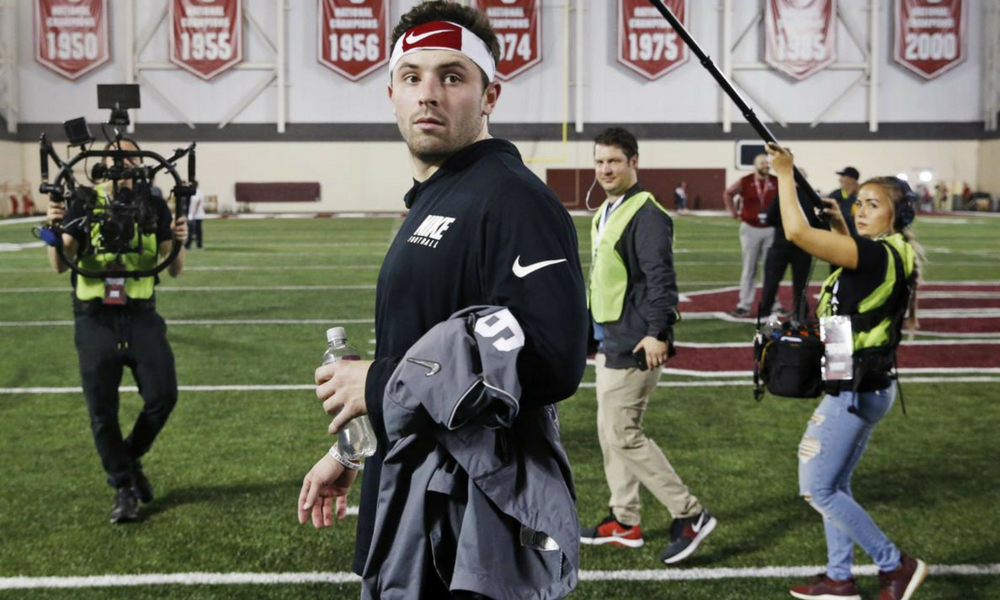 Browns draft Heisman Trophy victor Baker Mayfield first overall